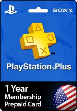 PSN PLUS 12 MONTHS USA