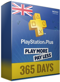 PSN PLUS 12 MONTHS UK